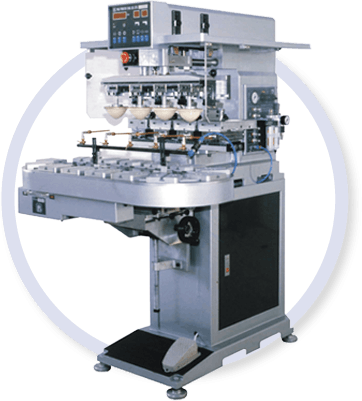 4 Colour Pad Printing MAchine