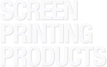 Screen Printing Products text